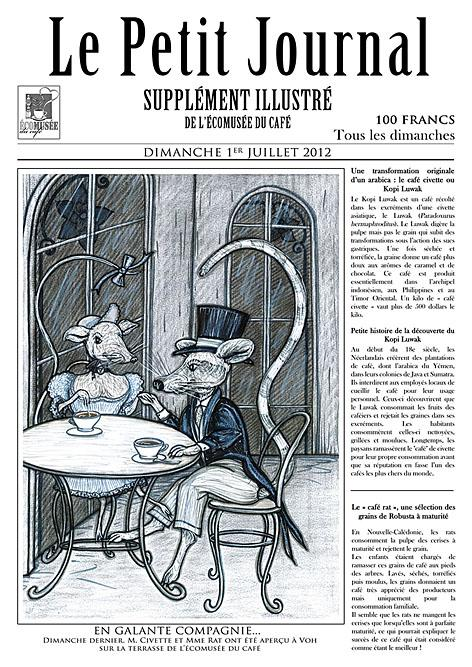 """Exposition """"les variétés de caféiers"""" pour l'écomusée du café à Voh"""