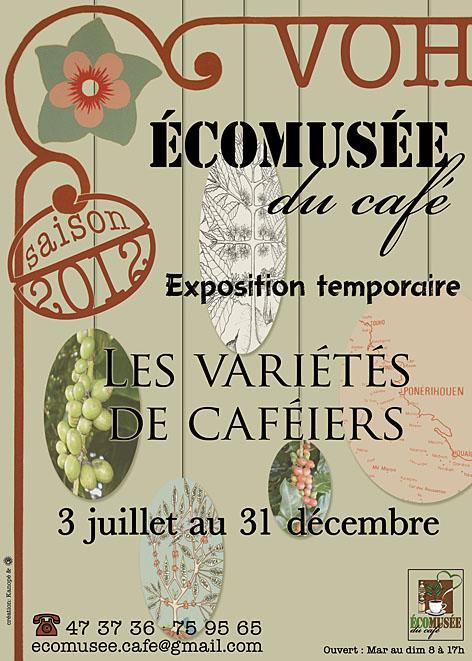 """Expo """"les variétés de caféiers"""" pour l'écomusée du café à Voh"""